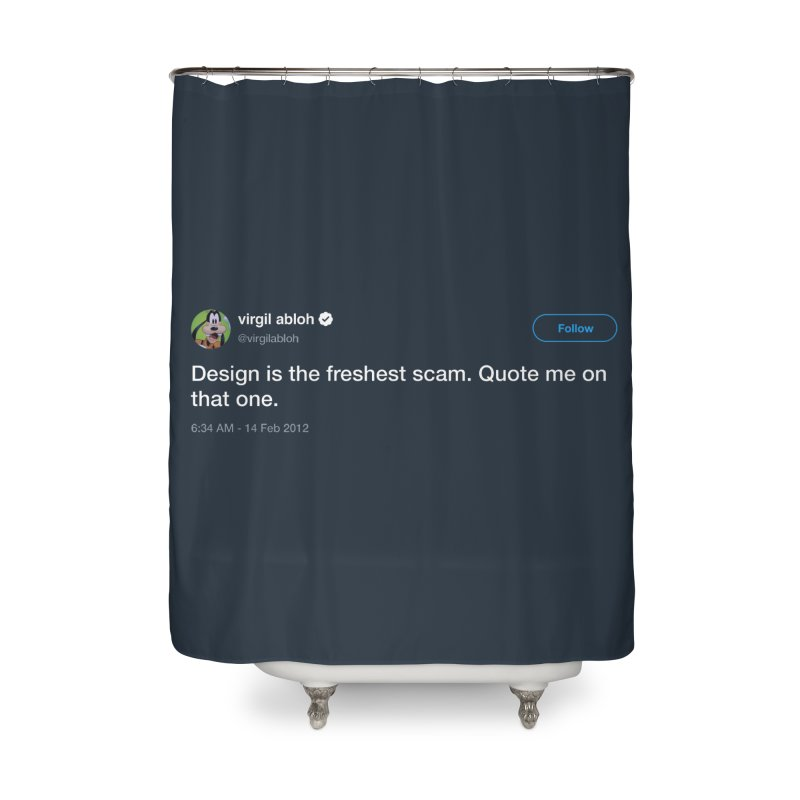 Troll God Home Shower Curtain by FWMJ's Shop