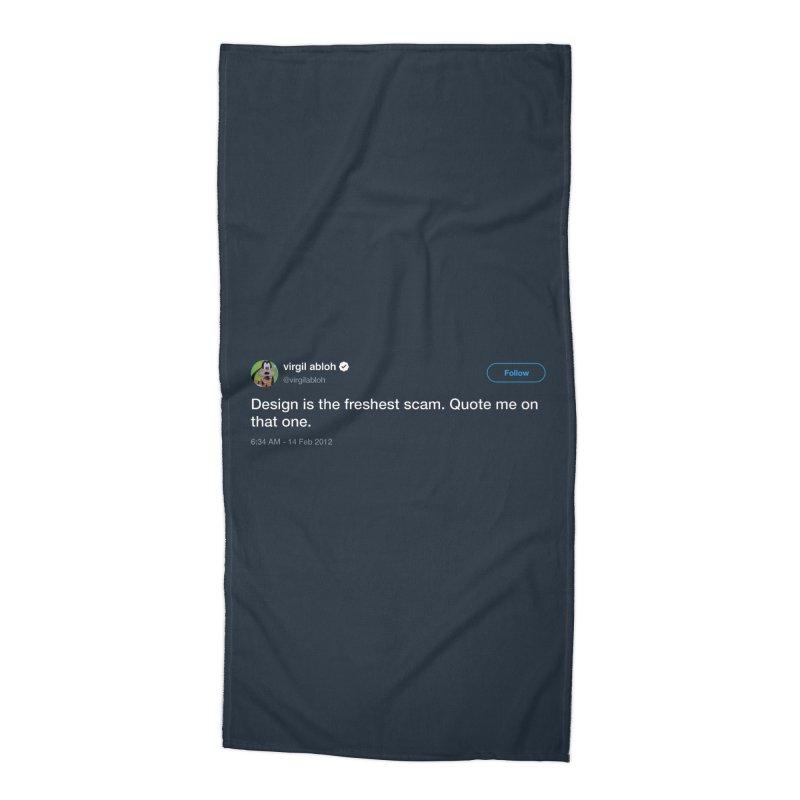 Troll God Accessories Beach Towel by FWMJ's Shop
