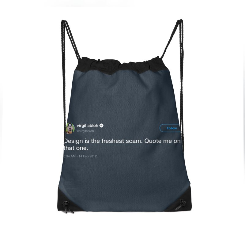 Troll God Accessories Drawstring Bag Bag by FWMJ's Shop