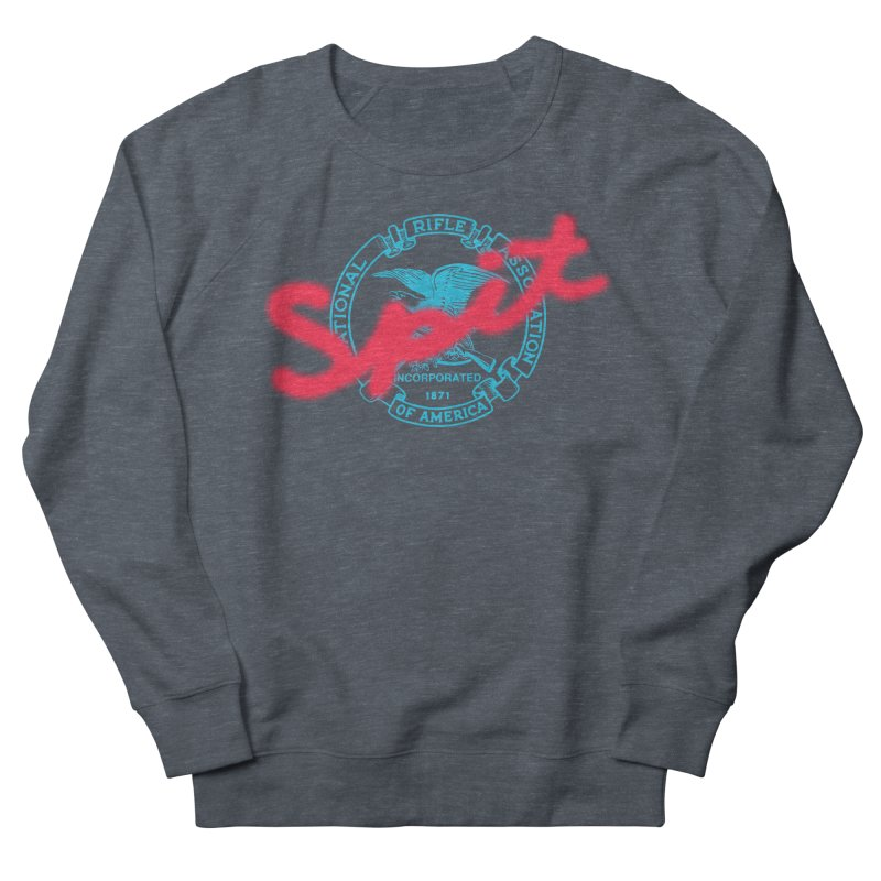 NRA Spit Men's French Terry Sweatshirt by FWMJ's Shop