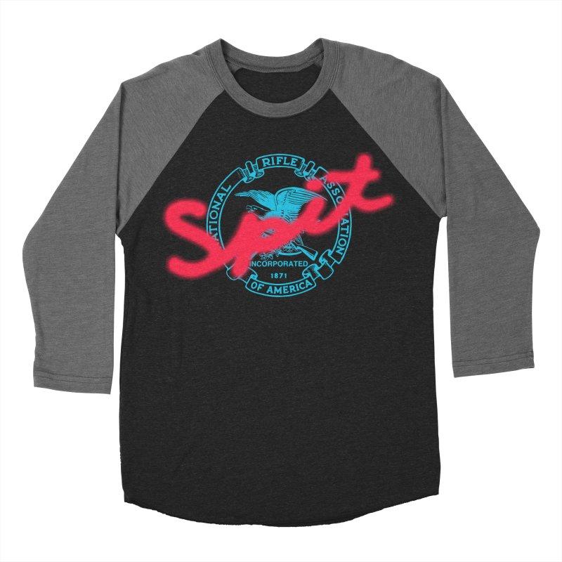 NRA Spit Women's Baseball Triblend Longsleeve T-Shirt by FWMJ's Shop