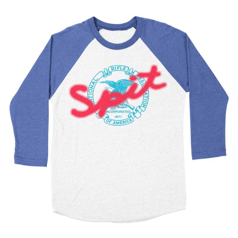 NRA Spit Men's Baseball Triblend T-Shirt by FWMJ's Shop