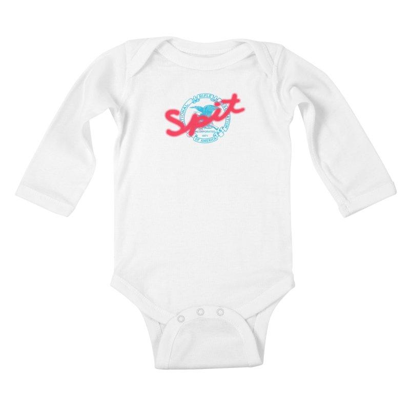 NRA Spit Kids Baby Longsleeve Bodysuit by FWMJ's Shop