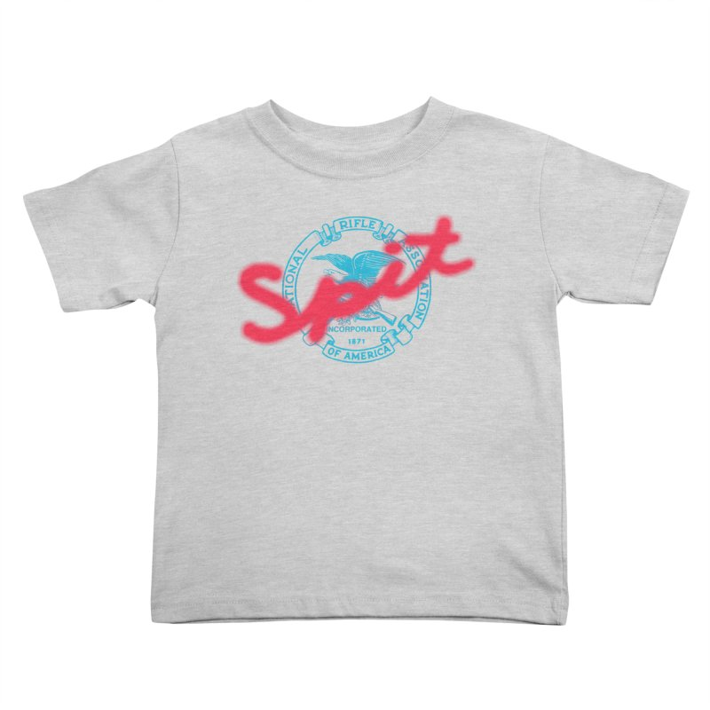 NRA Spit Kids Toddler T-Shirt by FWMJ's Shop