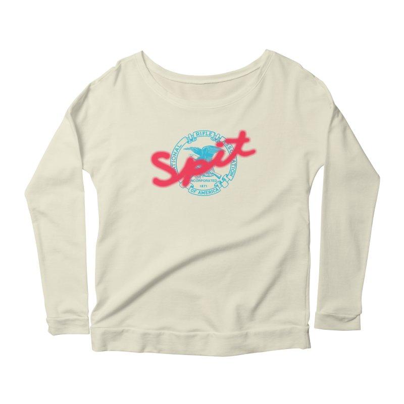 NRA Spit Women's Scoop Neck Longsleeve T-Shirt by FWMJ's Shop