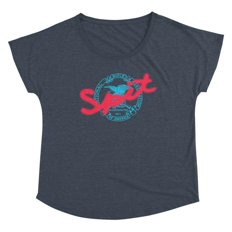 NRA Spit Women's Dolman Scoop Neck by FWMJ's Shop