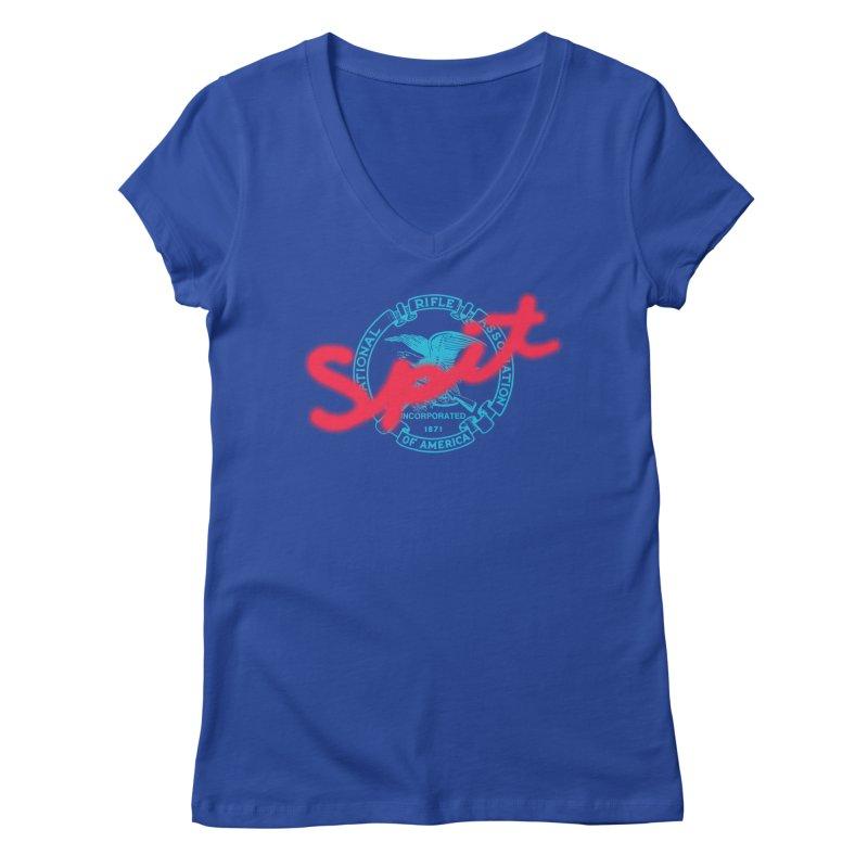 NRA Spit Women's V-Neck by FWMJ's Shop