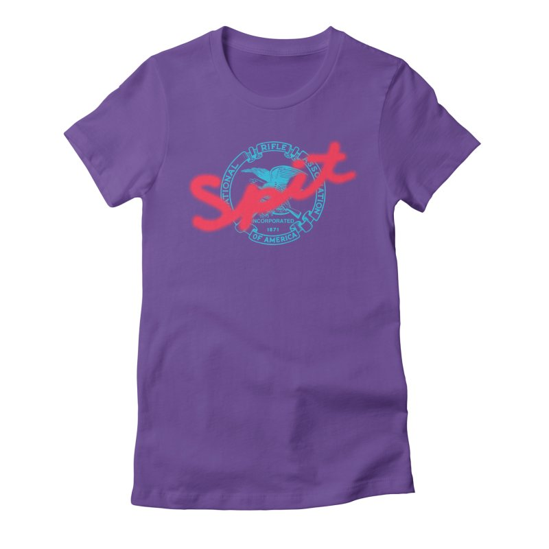 NRA Spit Women's Fitted T-Shirt by FWMJ's Shop