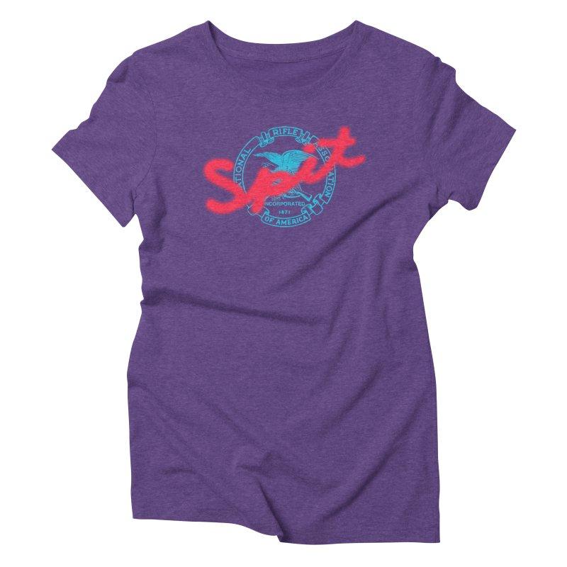 NRA Spit Women's Triblend T-Shirt by FWMJ's Shop