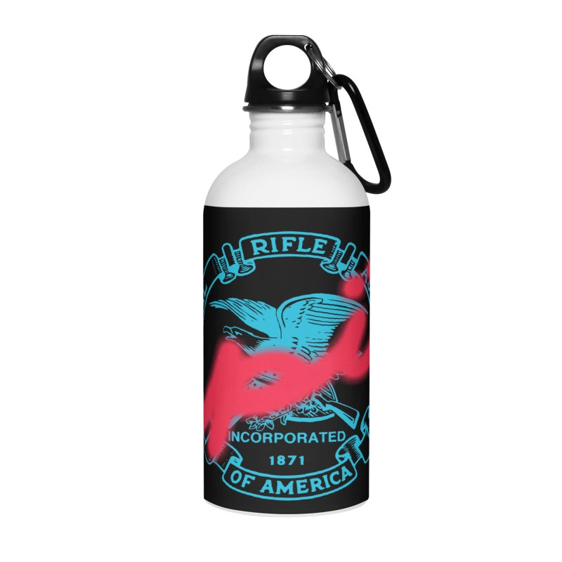 NRA Spit Accessories Water Bottle by FWMJ's Shop