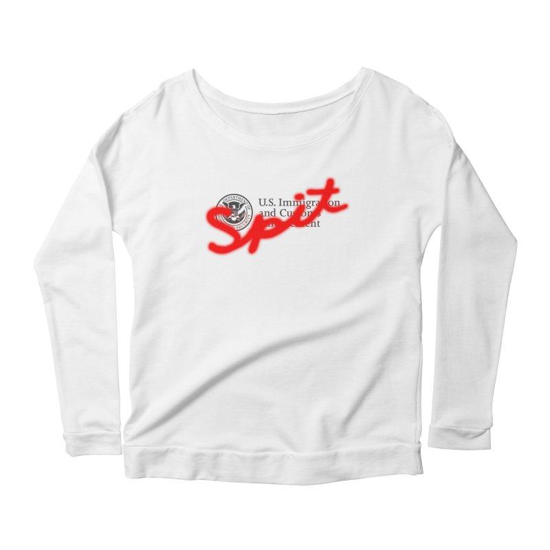 ICE Spit Women's Scoop Neck Longsleeve T-Shirt by FWMJ's Shop