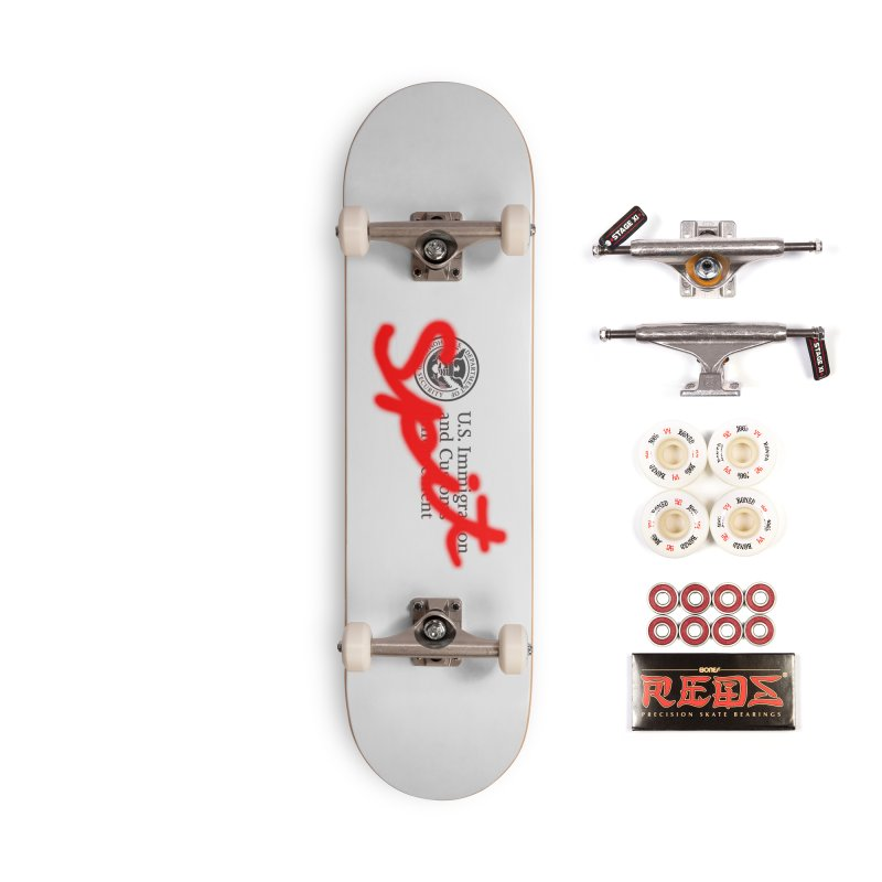 ICE Spit Accessories Skateboard by FWMJ's Shop