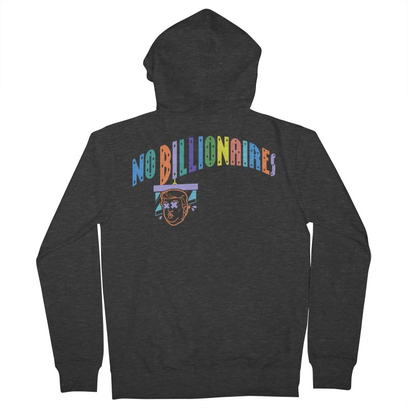 No Billionaires. Men's Zip-Up Hoody by FWMJ's Shop