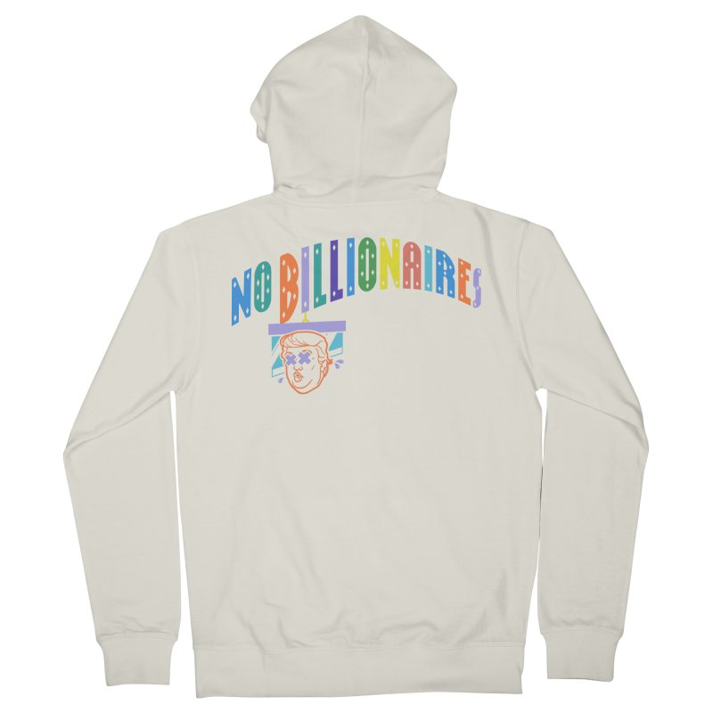 No Billionaires. Men's French Terry Zip-Up Hoody by FWMJ's Shop