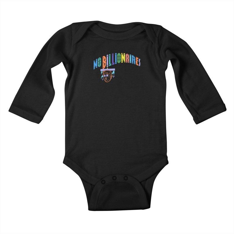 No Billionaires. Kids Baby Longsleeve Bodysuit by FWMJ's Shop