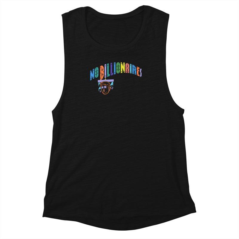 No Billionaires. Women's Muscle Tank by FWMJ's Shop