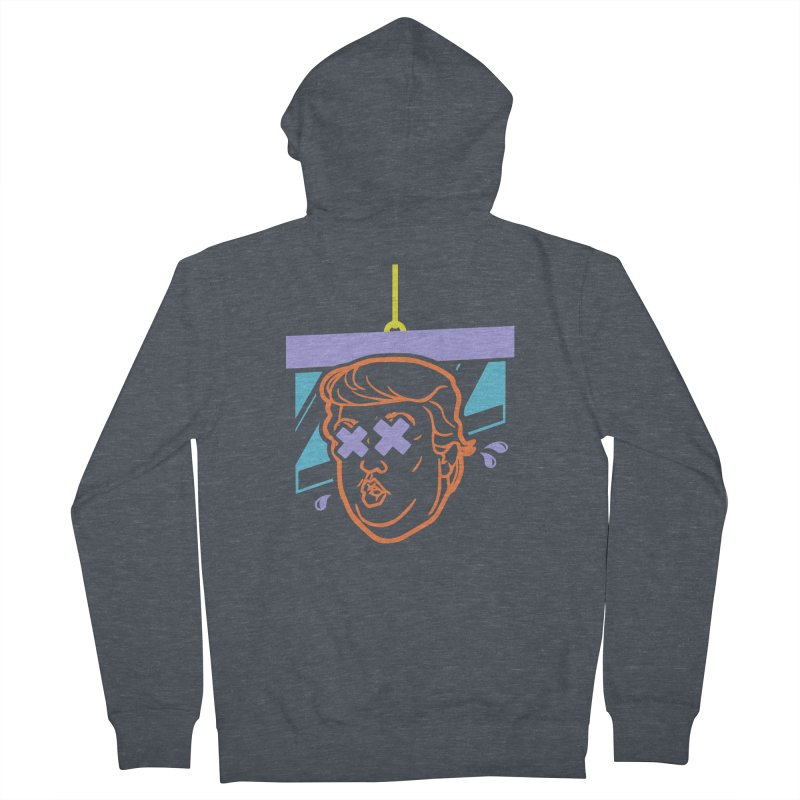 No Billionaires (Big Face) Men's French Terry Zip-Up Hoody by FWMJ's Shop