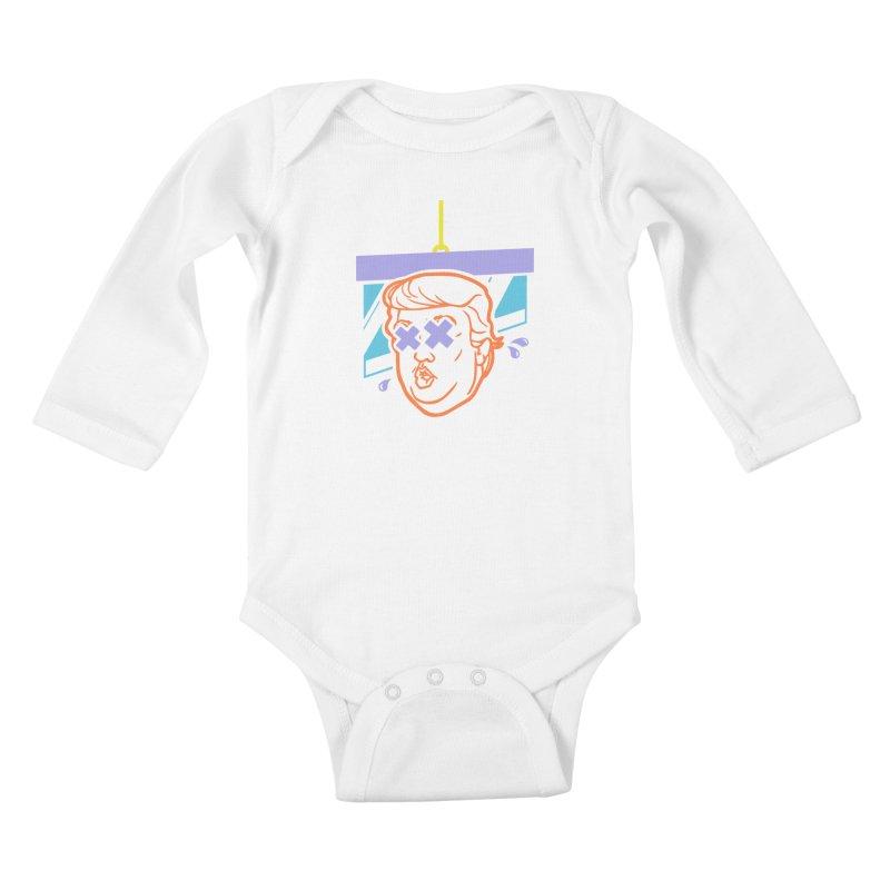 No Billionaires (Big Face) Kids Baby Longsleeve Bodysuit by FWMJ's Shop