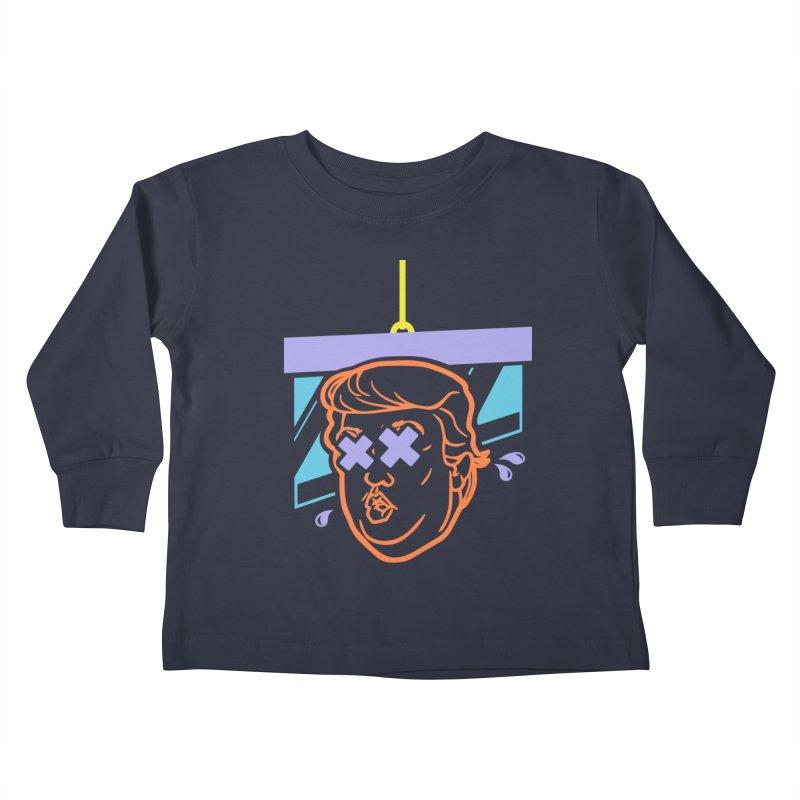 No Billionaires (Big Face) Kids Toddler Longsleeve T-Shirt by FWMJ's Shop