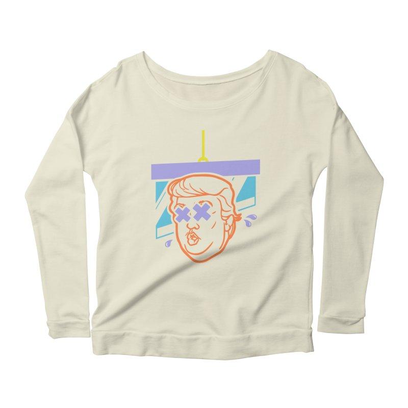 No Billionaires (Big Face) Women's Scoop Neck Longsleeve T-Shirt by FWMJ's Shop