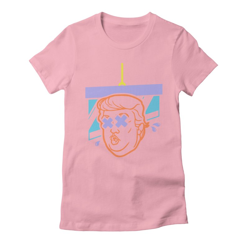 No Billionaires (Big Face) Women's Fitted T-Shirt by FWMJ's Shop