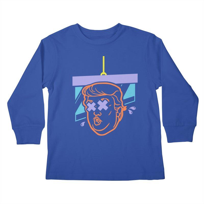 No Billionaires (Big Face) Kids Longsleeve T-Shirt by FWMJ's Shop