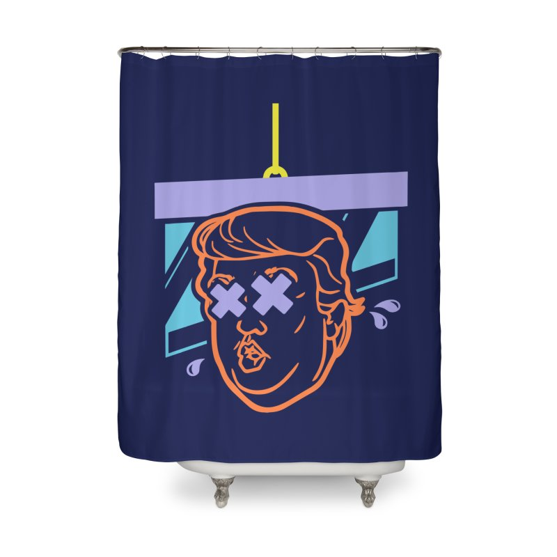 No Billionaires (Big Face) Home Shower Curtain by FWMJ's Shop