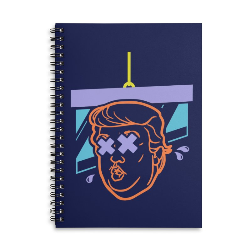 No Billionaires (Big Face) Accessories Lined Spiral Notebook by FWMJ's Shop