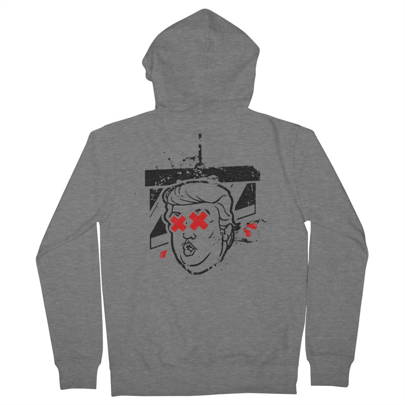 No Billionaires (Big Face Too) Women's French Terry Zip-Up Hoody by FWMJ's Shop