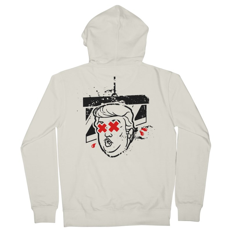 No Billionaires (Big Face Too) Men's Zip-Up Hoody by FWMJ's Shop