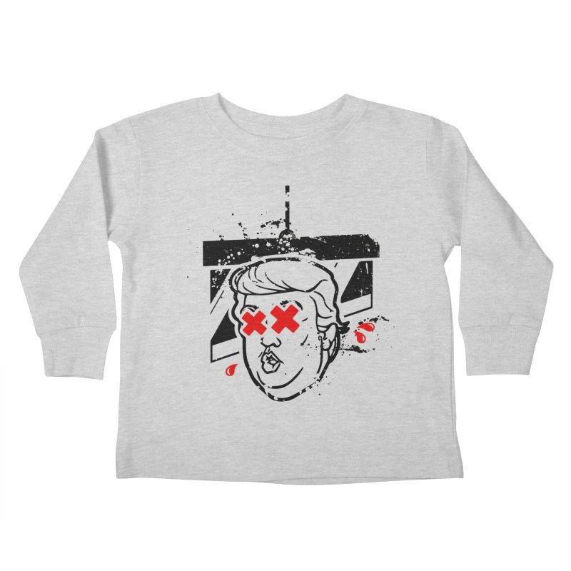 No Billionaires (Big Face Too) Kids Toddler Longsleeve T-Shirt by FWMJ's Shop