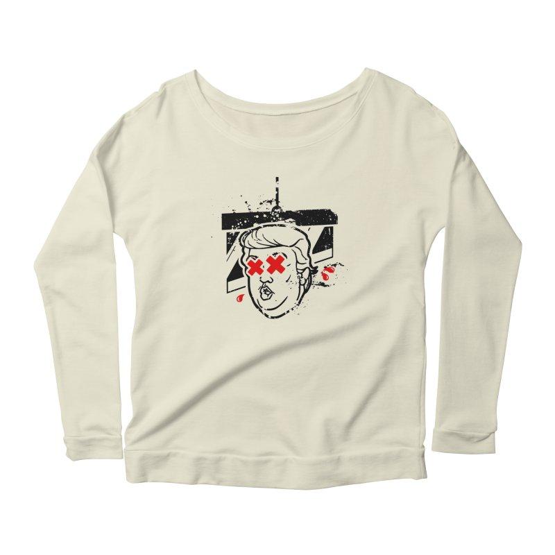 No Billionaires (Big Face Too) Women's Scoop Neck Longsleeve T-Shirt by FWMJ's Shop