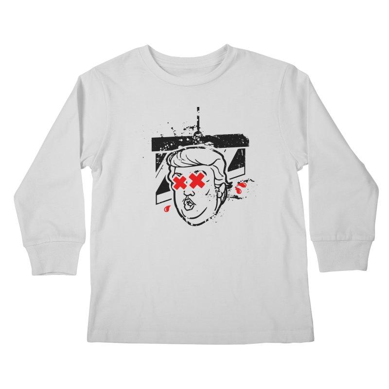 No Billionaires (Big Face Too) Kids Longsleeve T-Shirt by FWMJ's Shop