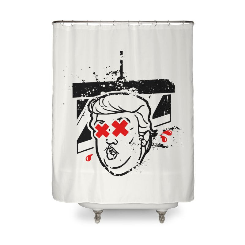 No Billionaires (Big Face Too) Home Shower Curtain by FWMJ's Shop