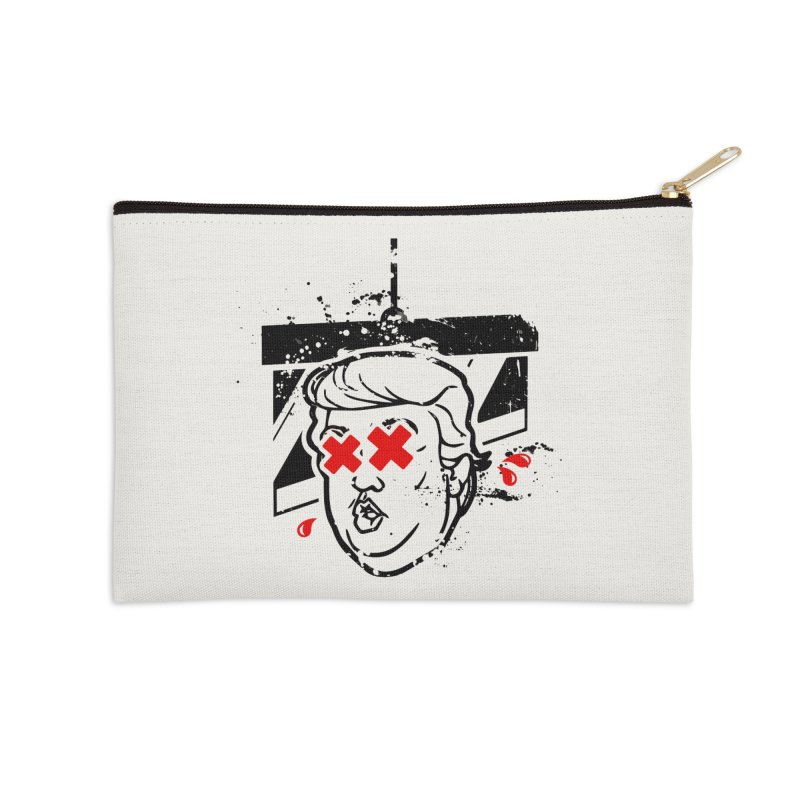 No Billionaires (Big Face Too) Accessories Zip Pouch by FWMJ's Shop