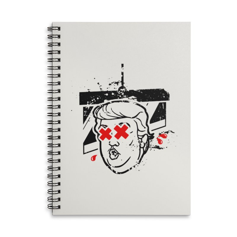 No Billionaires (Big Face Too) Accessories Lined Spiral Notebook by FWMJ's Shop