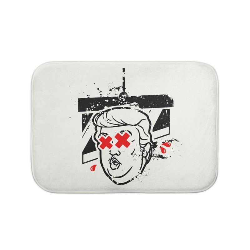 No Billionaires (Big Face Too) Home Bath Mat by FWMJ's Shop