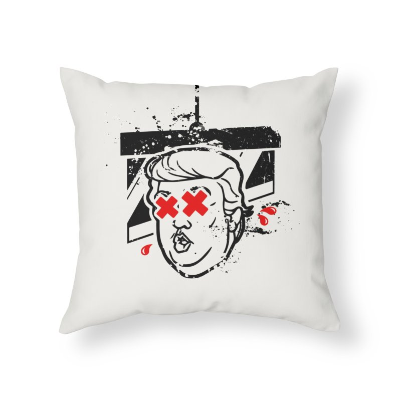 No Billionaires (Big Face Too) Home Throw Pillow by FWMJ's Shop