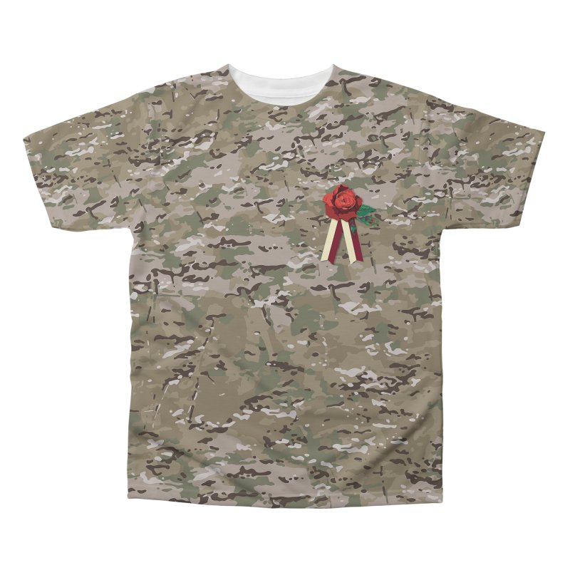 Florals & MultiCAM Men's Regular All Over Print by FWMJ's Shop