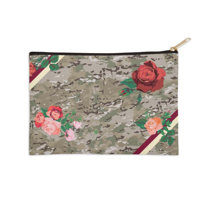 Florals & MultiCAM Accessories Zip Pouch by FWMJ's Shop