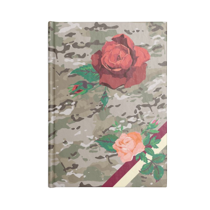Florals & MultiCAM Accessories Notebook by FWMJ's Shop