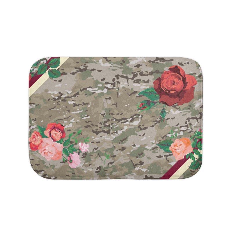 Florals & MultiCAM Home Bath Mat by FWMJ's Shop