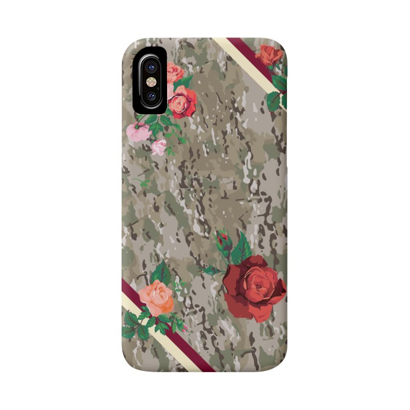 Florals & MultiCAM Accessories Phone Case by FWMJ's Shop