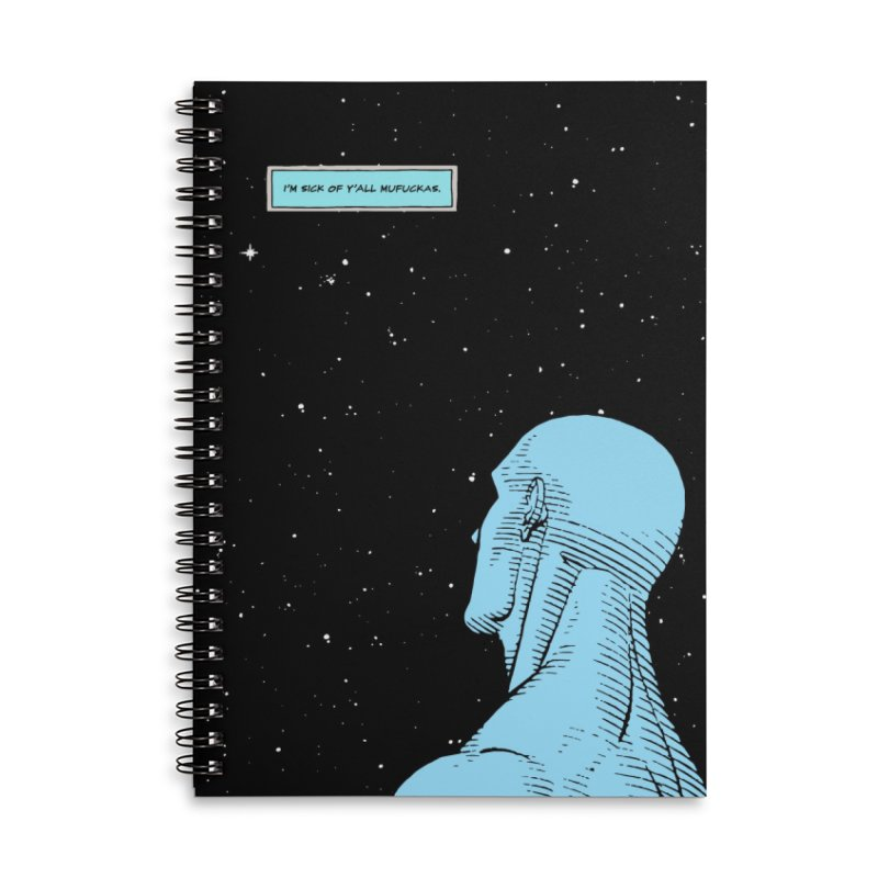 Ennui For You Accessories Lined Spiral Notebook by FWMJ's Shop