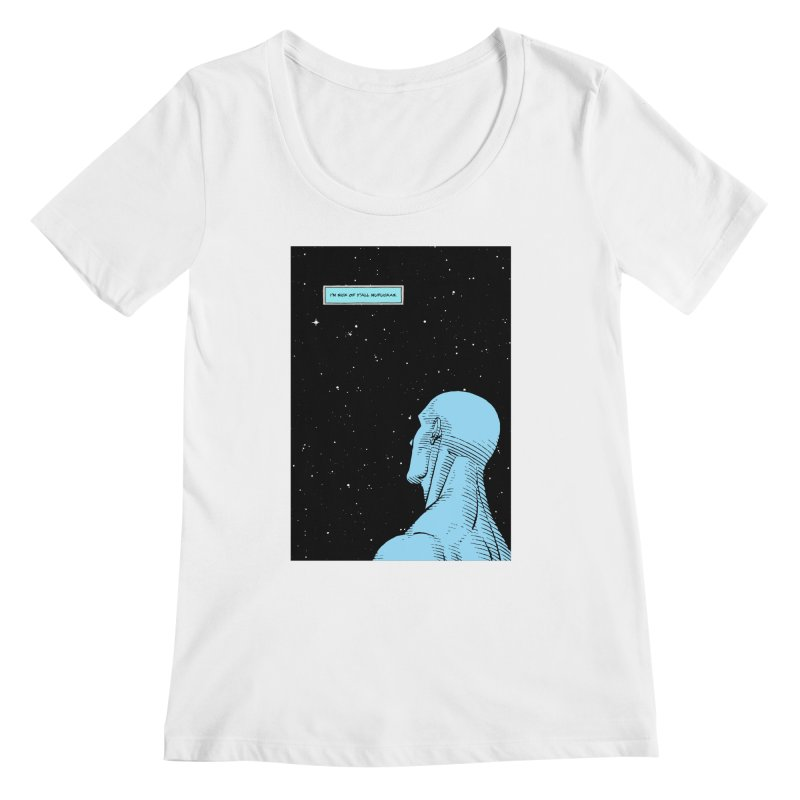 Ennui For You Women's Regular Scoop Neck by FWMJ's Shop