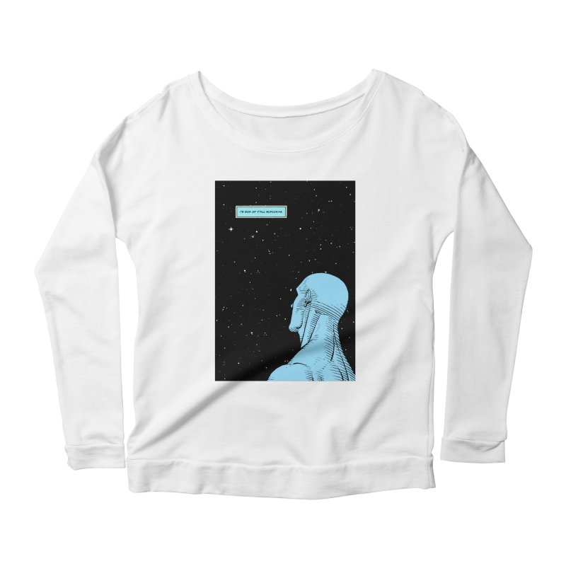 Ennui For You Women's Scoop Neck Longsleeve T-Shirt by FWMJ's Shop