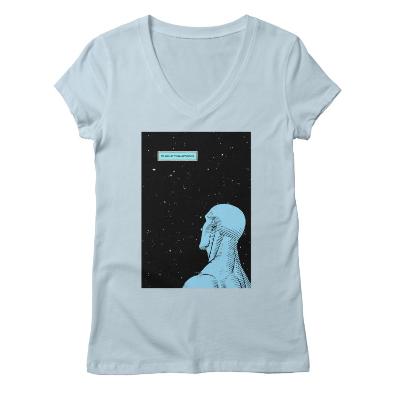 Ennui For You Women's V-Neck by FWMJ's Shop