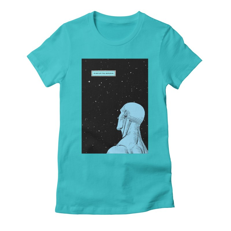 Ennui For You Women's Fitted T-Shirt by FWMJ's Shop