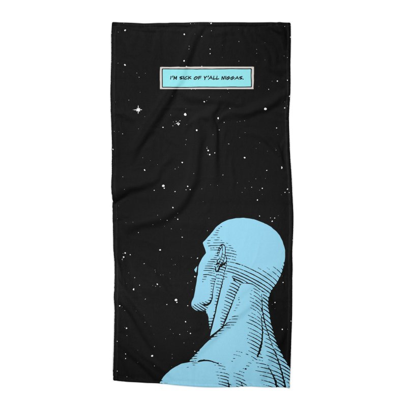 Ennui For Us Accessories Beach Towel by FWMJ's Shop
