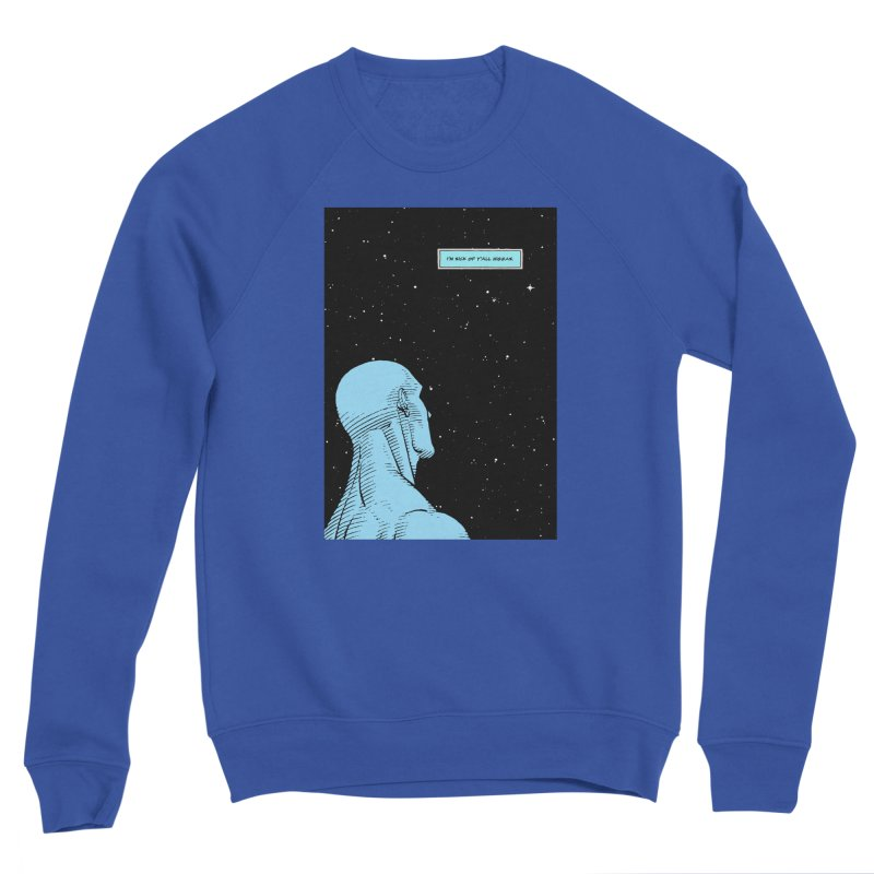 Ennui For Us Men's Sponge Fleece Sweatshirt by FWMJ's Shop